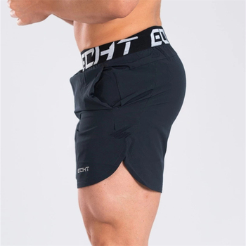 New Men Fitness Bodybuilding Shorts Man Summer Gyms Workout Male Breathable Quick Dry Sportswear Jogger Beach Short Pants 2
