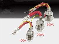 KP5A KP20A KP50A KP100A KP200A KP300A spiral 1600V unidirectional bolt thyristor 3CT thyristor module Building Automation    -