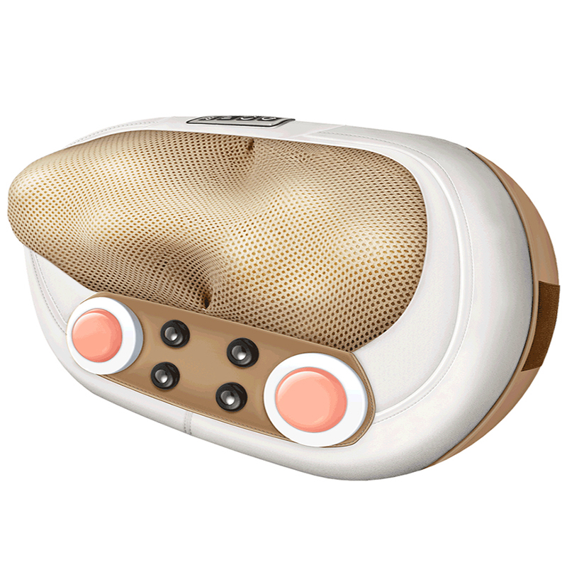 Cervical Massager Waist Car Home Multifunction Body Electric Massage Cushion PU Material Multicolor Portable