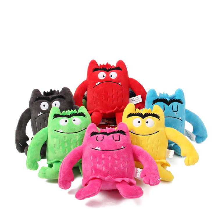 3-6-Year-Old Children Baby Educational Pacify Mood Plush Doll Toy My Mood Little Monster Doll