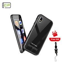 Original melrose s9 mais telefone móvel android 7.0 ultra fino 2.45 Polegada quad core 4g lte mini bolso smartphone google play