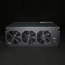 Ethereum USB Bitcoin Miner Case Server Mining Rig GPU Frame PC System Unit For Onda D1800 BTC Motherboard 6 Graphics Chassis E