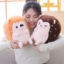 Новая плюшевая игрушка милая Ёжик кукла подушка животная детский