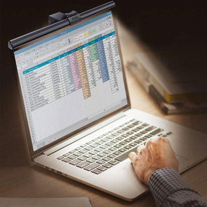 Image 2 - 알루미늄 USB 전원 책상 램프 읽기 Led 모니터 비 깜박임 5v 컴퓨터 화면 눈 보호 사무실 내구성 5W 조정 가능