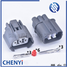 1 set Sumitomo 3 Pin Automotive Waterproof Connector HeadLight Leveling Device Plug 6189-0130 6181-0071 For Honda B-Series VSS