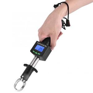 Image 3 - 3 في 1 LED الرقمية الأسماك الشفاه مقياس المنتزع 25 كجم/55lb الأسماك الشفاه القابض المنتزع كماشة مقياس مع 1 متر شريط القياس أداة الصيد