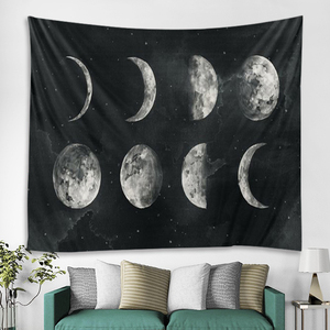 Sun and moon wall hanging Mandala living room home decoration witchcraft tapestry Bohemian decoration Hippie yoga mat Tarot