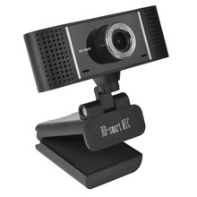 A6 LED Web Camera USB Webcam 360 Degree MIC Clip-On Web Cam for Youtube Computer PC Laptop Notebook Camera Black(China)