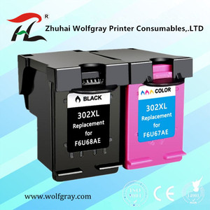 YI LE CAI совместимый чернильный картридж для HP302 302XL для HP 302 DeskJet 1110 2130 для HP302XL Envy 4520 NS45 Officejet 3630 3830
