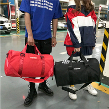 large capacity Travel Shoulder Bag Fashion Men and Women Fitness Yoga Handbag Travel luggage Belt Independent Shoe Seat