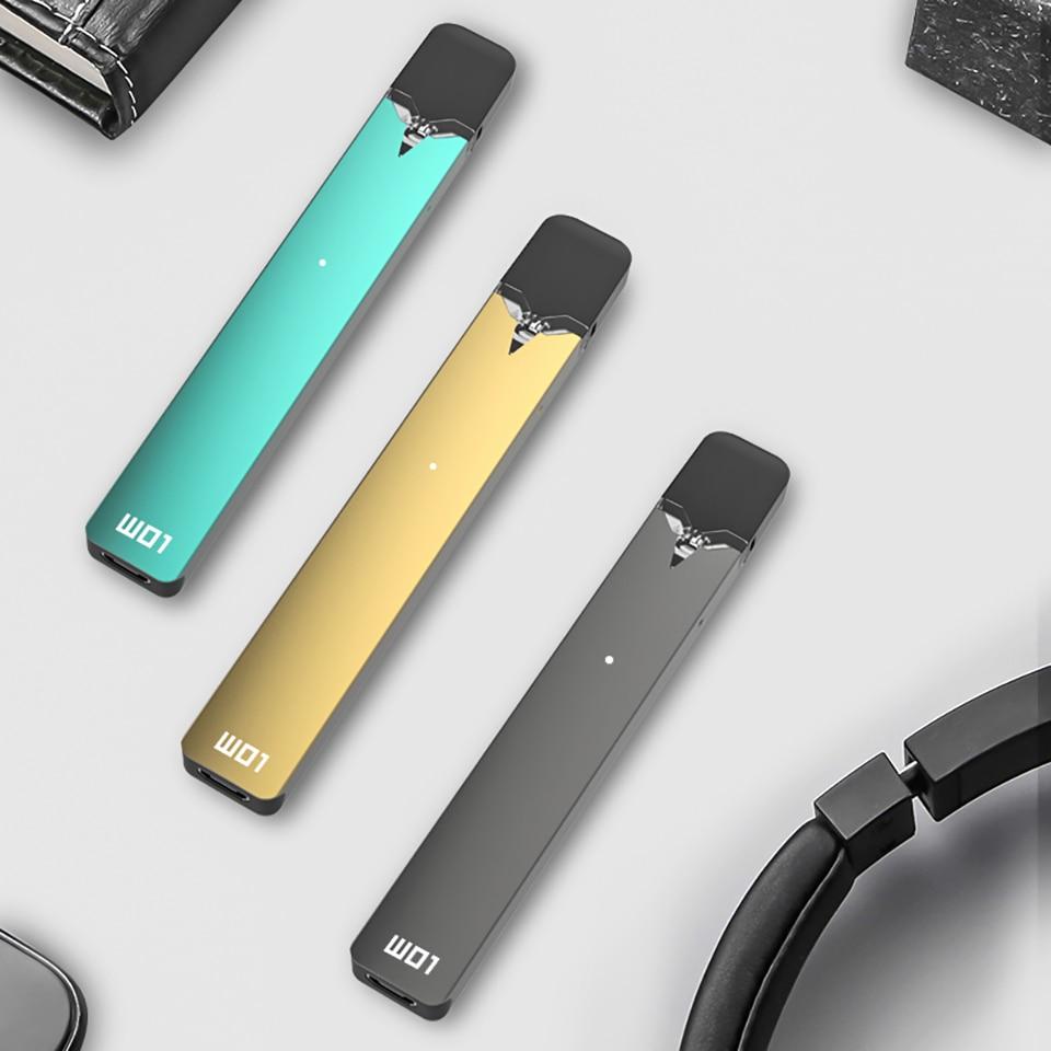 Mais novo Original OVNS W01 Pod Pod Vape Kit LED de indicação de energia Do Sistema kit Caneta Vape Cigarro Eletrônico Kit VS infinix
