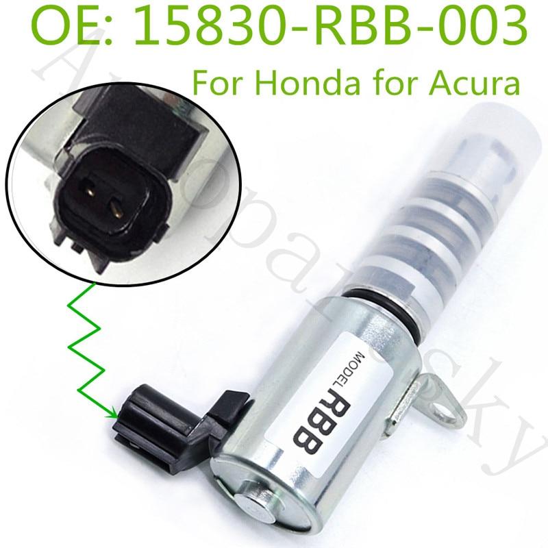Oil Variable Valve Timing Solenoid VVT VTC For Honda Civic Accord CR-V FR-V For Acura ILX RDX RSX TSX 15830-RBB-003 15830RBB003