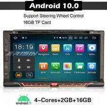 5137 Android 10 samochodowy odtwarzacz DVD Stereo dla Nissan uniwersalny podwójny 2 Din WIFI 4G DAB + OBD Autoradio SatNav jednostka główna odtwarzacz multimedialny