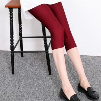 Legging de talla grande INDJXND, Leggings fluorescentes de neón para mujer, Leggings elásticos, pantalones de verano nuevos de LICRA Multicolor brillantes