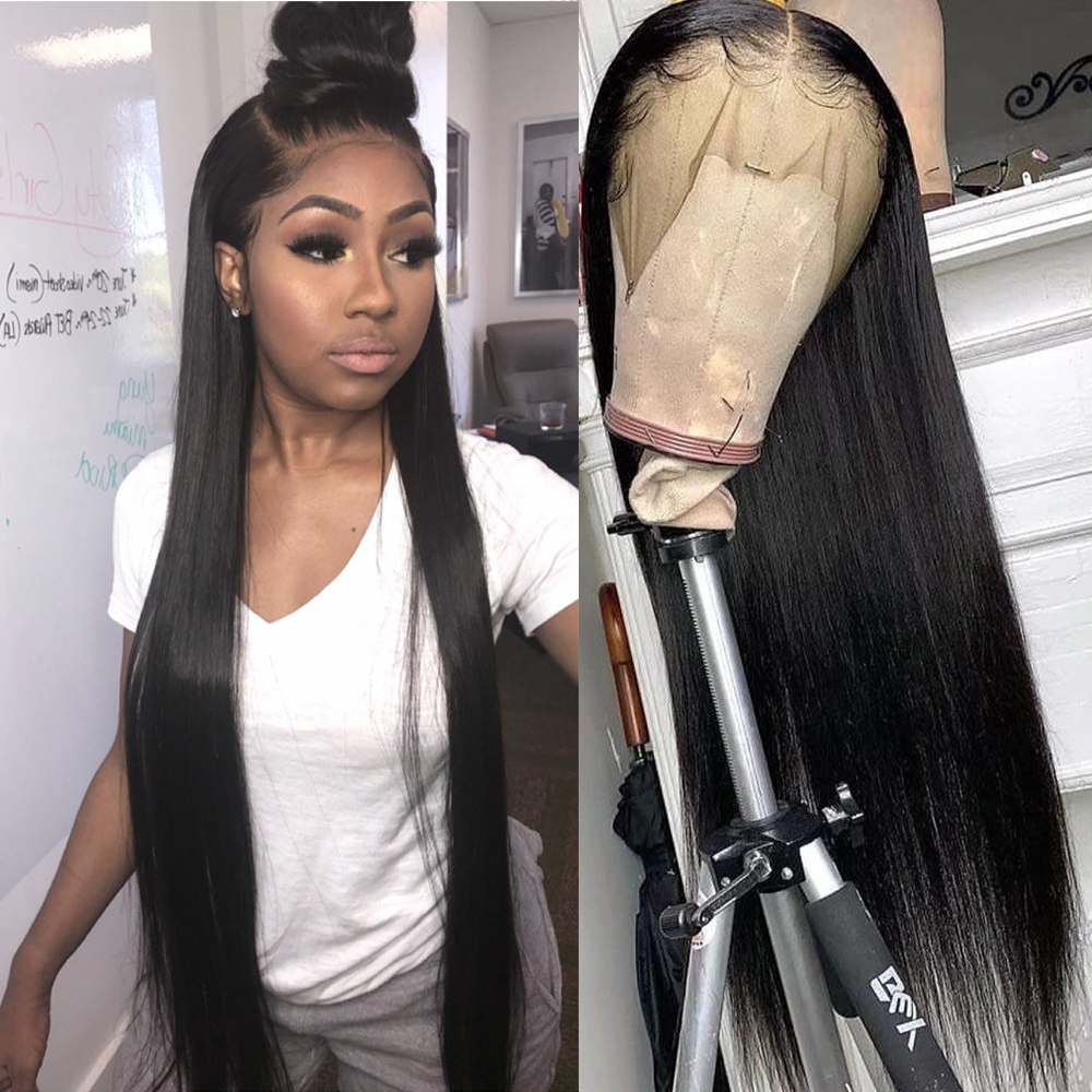 Lace Front Human Hair Wigs Bob Lace Front Wigs Short Bob 13x4 Straight Hd Lace Frontal Wig Short Human Hair Wigs Full Lace Wig