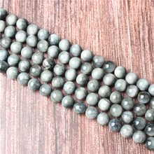 Hot Sale Natural Stone Natural Hawkeye Beads 15.5 Pick Size: 4 6 8 10 mm fit Diy Charms Beads Jewelry Making Accessories