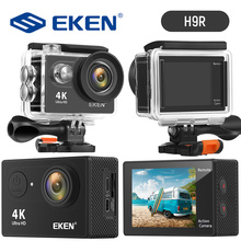 EKEN H9R Action Camera HD 4K 30fps Anti-shake Digital WIFI Camera 170D Underwater Waterproof Video Recording Cameras