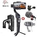 2019 MOZA Mini S Opvouwbare 3-Axis Handheld Gimbal Stabilizer voor IOS10.0 iPhones Andriod 8.1 of Boven Smartphones met Gift