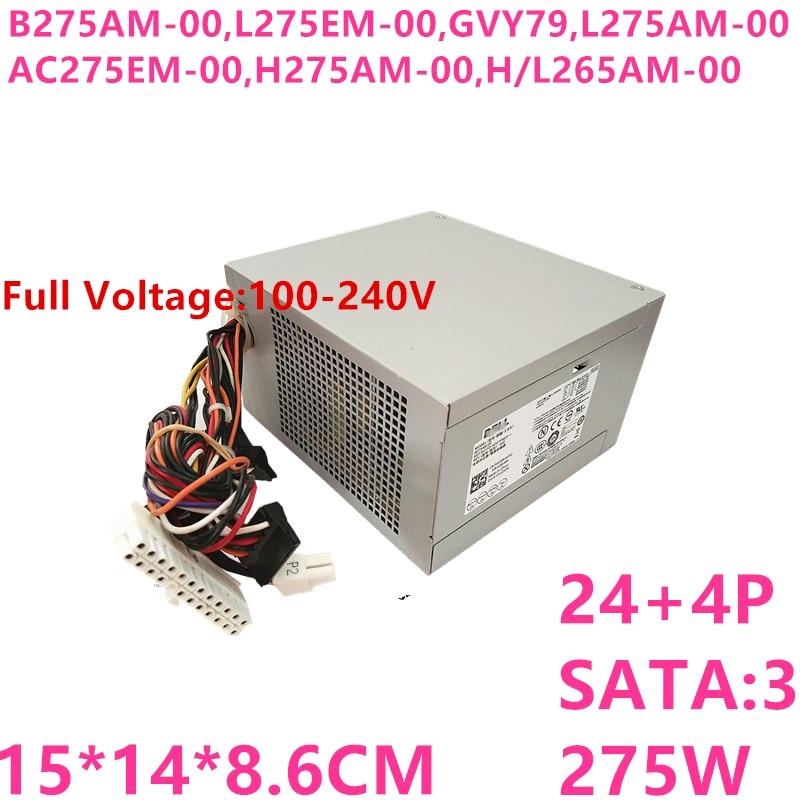 New PSU For Dell 390 790 990 3010 9010 7010MT Power Supply B275AM-00 L275EM-00 GVY79 L275AM-00 AC275EM-00 H275AM-00 H/L265AM-00 фото