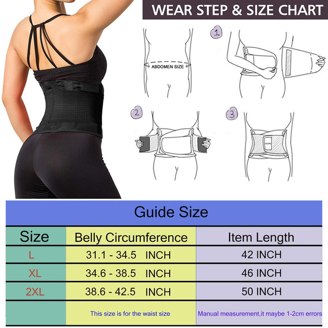 Women Waist Trainer Breathable Sweat Belt Body Shaping Belt Fat Burn Belly Slimming Band For Weight Loss Fitness Body Shapers 1