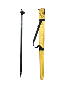 "Image 1 - GPS PoleปรับเทียบวงกลมSpiritระดับTelescopicดึงคาร์บอนไฟเบอร์Rod 5/8 ""× 11สำหรับProfessional Survey GNSSสีโอ๊ค"