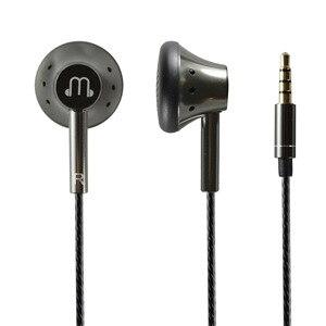 Image 1 - Auriculares de grafeno con micrófono, cascos planos de sonido suave de 150 ohm, alta resistencia, Cable HiFi OFC de 3,5mm