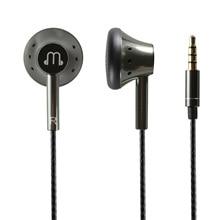 Gładki dźwięk 150 ohm płaskie słuchawki wysoka odporność ciepły głos grafen słuchawki z mikrofonem HiFi 3.5mm kabel OFC