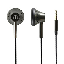 Smooth Sound 150 ohm Flat Earphones High Resistance Warm Voice Graphene Earphone with Mic HiFi 3.5mm OFC Cable