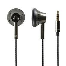 Son lisse 150 ohm écouteurs plats haute résistance voix chaude graphène écouteur avec micro HiFi 3.5mm OFC câble