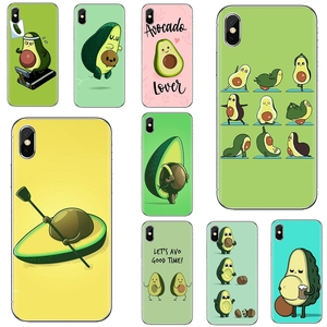 For Samsung Galaxy A10 A40 A50 A70 A3 A5 A7 A9 A8 A6 Plus 2018 2015 2016 2017 gebelia avocado Soft Silicone Case