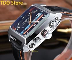 Men's Watch Gift Man Watches Mechanical Sports Fashion Business Men 2021 Wrist Brand Top Luxury Belt Spiral Crown Wristwatches