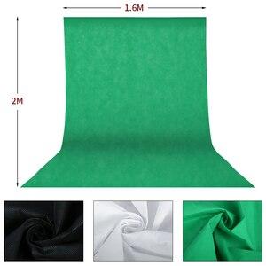 Image 5 - Support de cadre de fond de photographie Kit déclairage Softbox accessoires déquipement de Studio Photo avec toile de fond 3 pièces et trépied