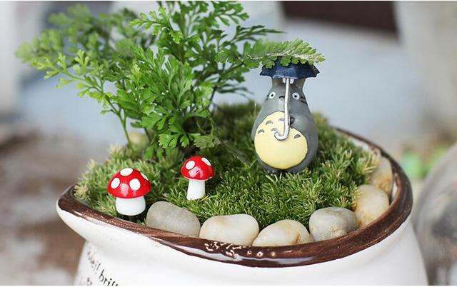 50 Pcs Mini Cute Ducks Miniatura Dollhouse Garden Home Bonsai Decoration Mini Toy Miniature Pvc Craft Ornaments Micro Decor DIY 4