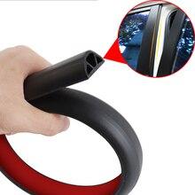 Sticker Trunk External-Accessory Automobile Soundproofing Waterproof 2pcscar Strip Door-Seal