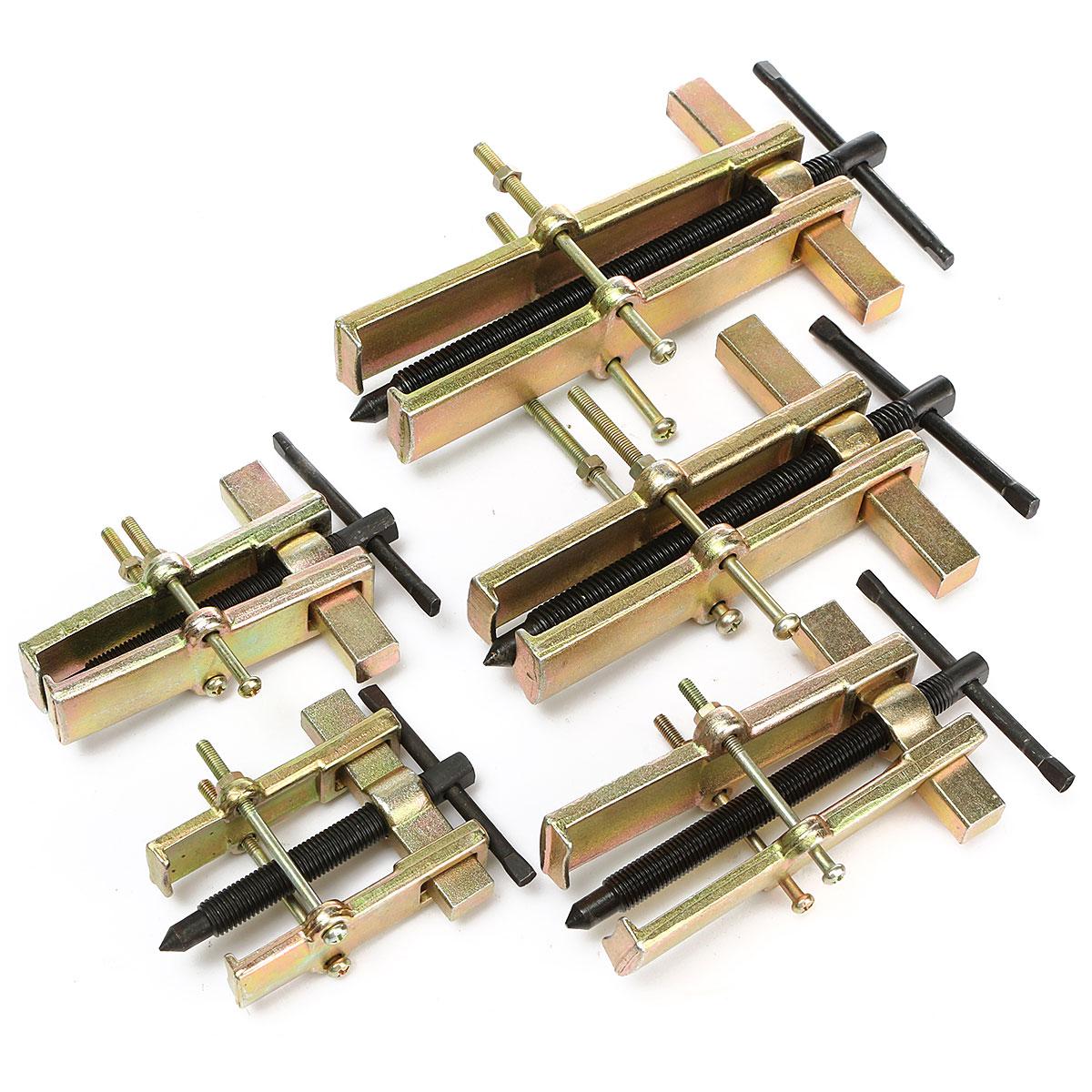 Spiral Puller Steel Two Jaws Gear Puller Armature Bearing Spiral Puller Forging Hexagonal Set Screw Car Home Use