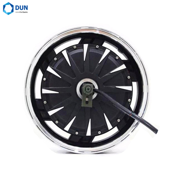 14*3.5inch 2000W 35H 72V 260 BLDC In Wheel Hub QS Motor for Electric Motorcycle image