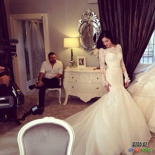 2014 Vintage Bateau Lace Bodice Long Sleeve Mermaid Wedding Dresses