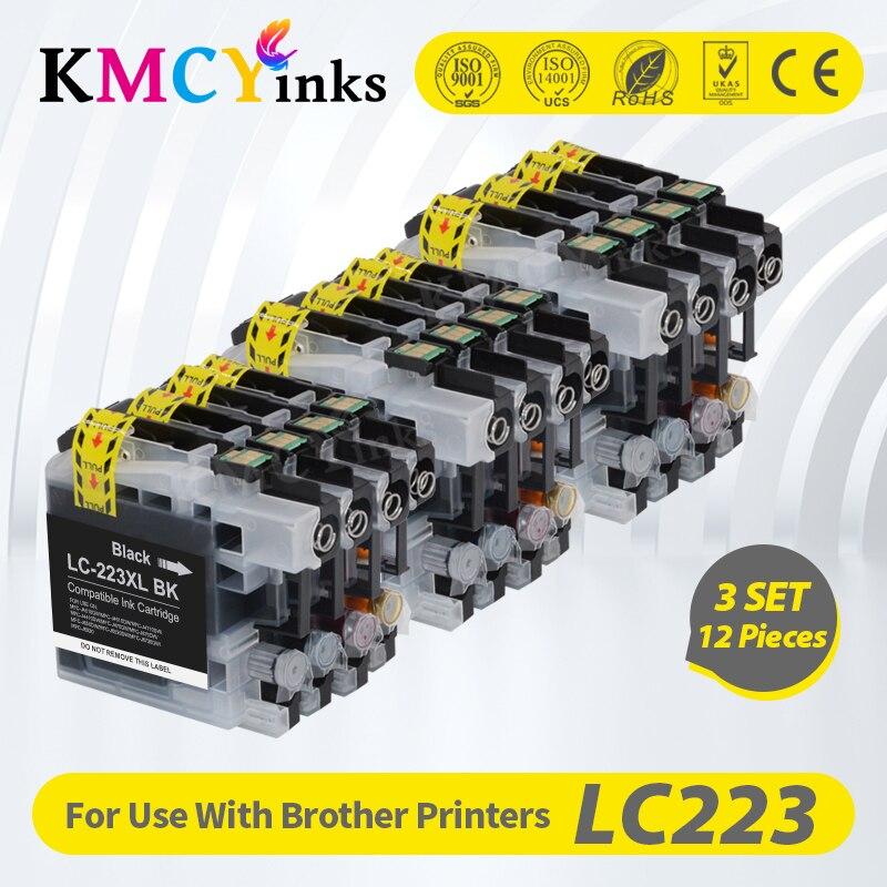 Чернильный картридж KMCYinks LC223 XL LC 223 для принтера Brother DCP-J562DW J4120DW MFC-J480DW J680DW J880DW J4620DW J5720DW J5320DW