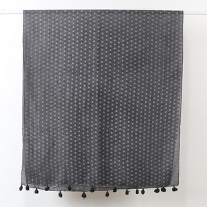 Image 4 - Écharpe hijab surdimensionnée en coton uni
