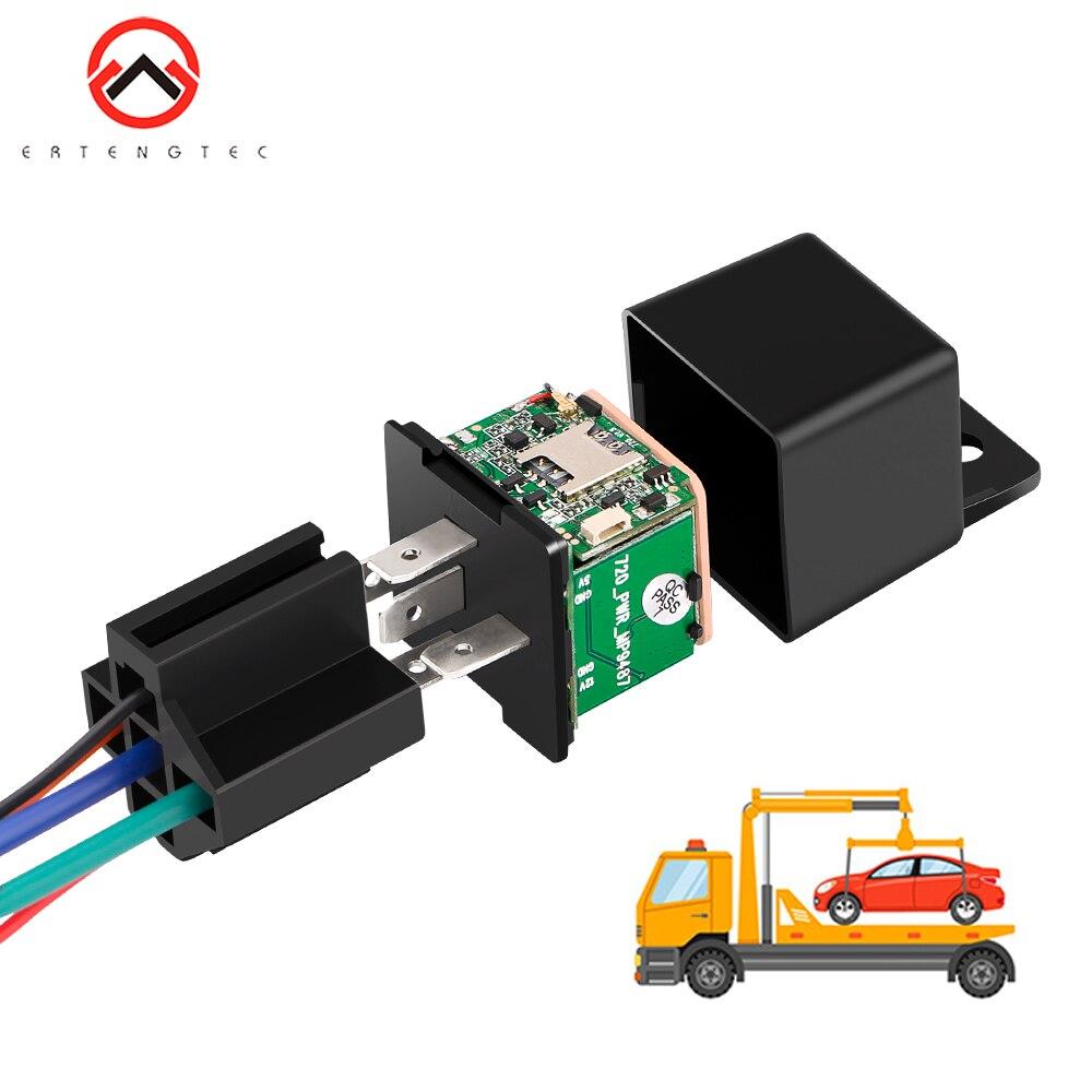 GPS Car Latest Version MV730 GPS Tracking Tracker Relay Hidden Design Cut Off Fuel Shock ACC Tow Alert Vehicle GPS Mini FREEAPP