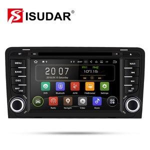 Image 1 - Isudar 2 דין אוטומטי רדיו אנדרואיד 9 לאאודי A3 8 P/A3 8P1 3 דלת Hatchback/ s3 8 P/RS3 Sportback רכב מולטימדיה נגן וידאו GPS DVR