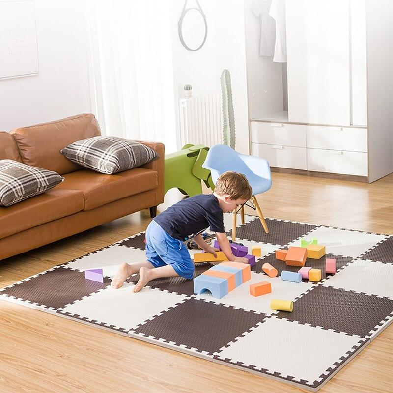 10Pcs/Lot Baby Toys Children's Mat EVA Mat Puzzle Baby Play Mat Soft Crawling Mat Kids Carpet Rug Safety Game Educational Mat