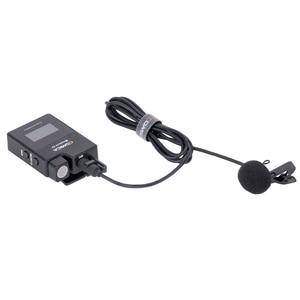 Image 5 - Comica BoomX D 2.4G הדיגיטלי אלחוטי מיקרופון משדר ערכת מיני נייד מיקרופון מקלט עבור טלפונים חכמים וידאו מיקרופון