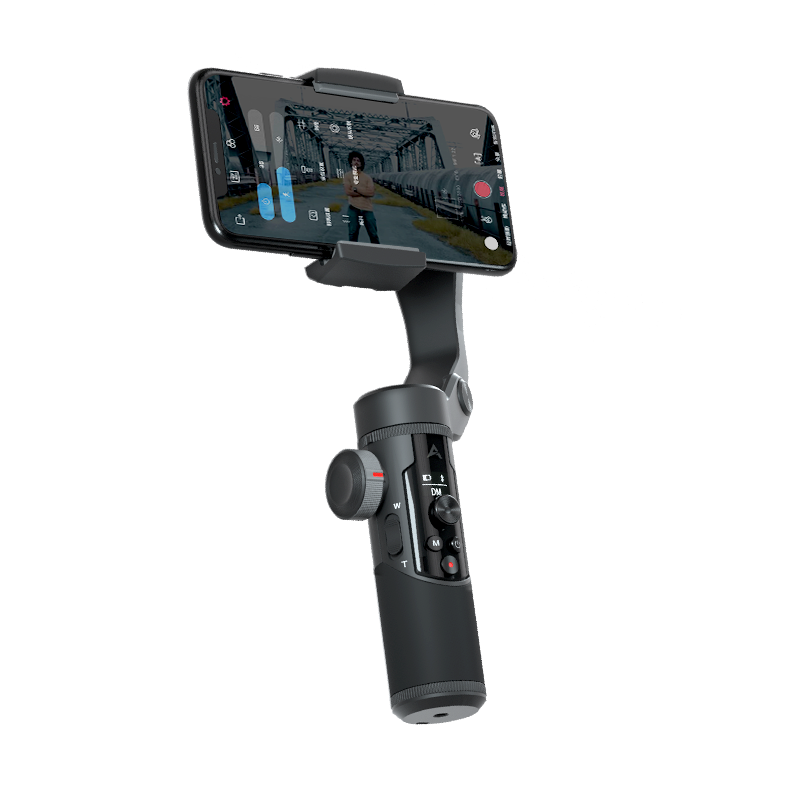 AOCHUAN inteligente XR de mano de 3 ejes cardán teléfono estabilizador Bluetooth para IOS Android PK liso 4 MOZA MINI MX Hohem Isteady X