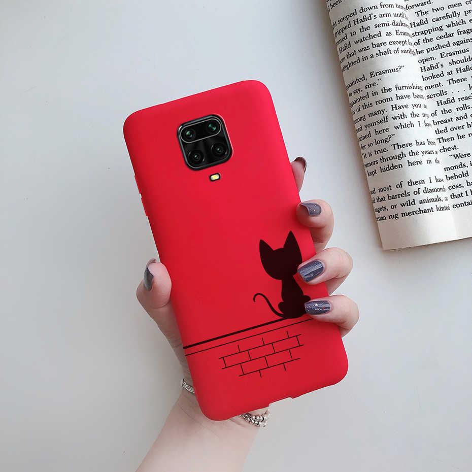 電話ケースxiaomi redmi注 9 s 8t 8 9 s pro最大カバーtpuシリコン保護バンパーをxiaomi redmi注 9 sケースfundas