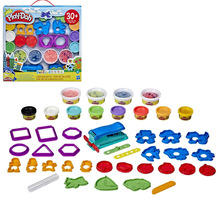 Hasbro Play Doh Color Clay Party Tool Set 12 Cans of Color Clay Plus Mold Children's Plasticine E8740 Plasticine Tool Set