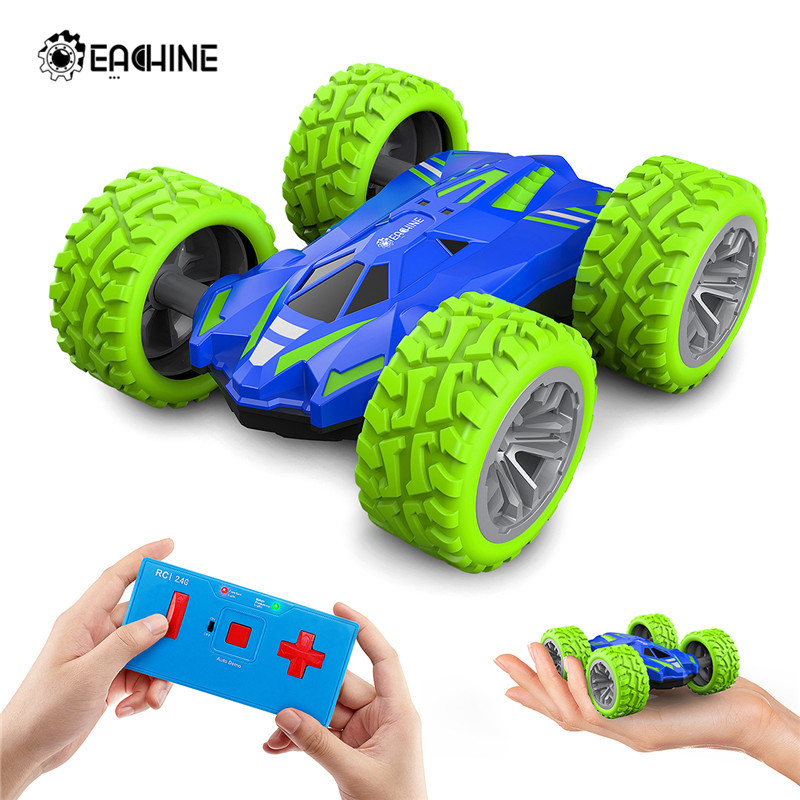 Eachine ec07 2.4G 4CH Stunt <font><b>Drift</b></font> Deformation Remote Control <font><b>RC</b></font> Car Rock Crawler Roll Car Flip Kids Robot <font><b>RC</b></font> Cars Toy image