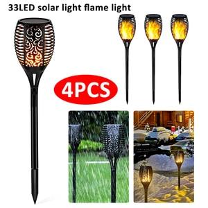 1/4pcs Solar LED Lamp IP65 Wat
