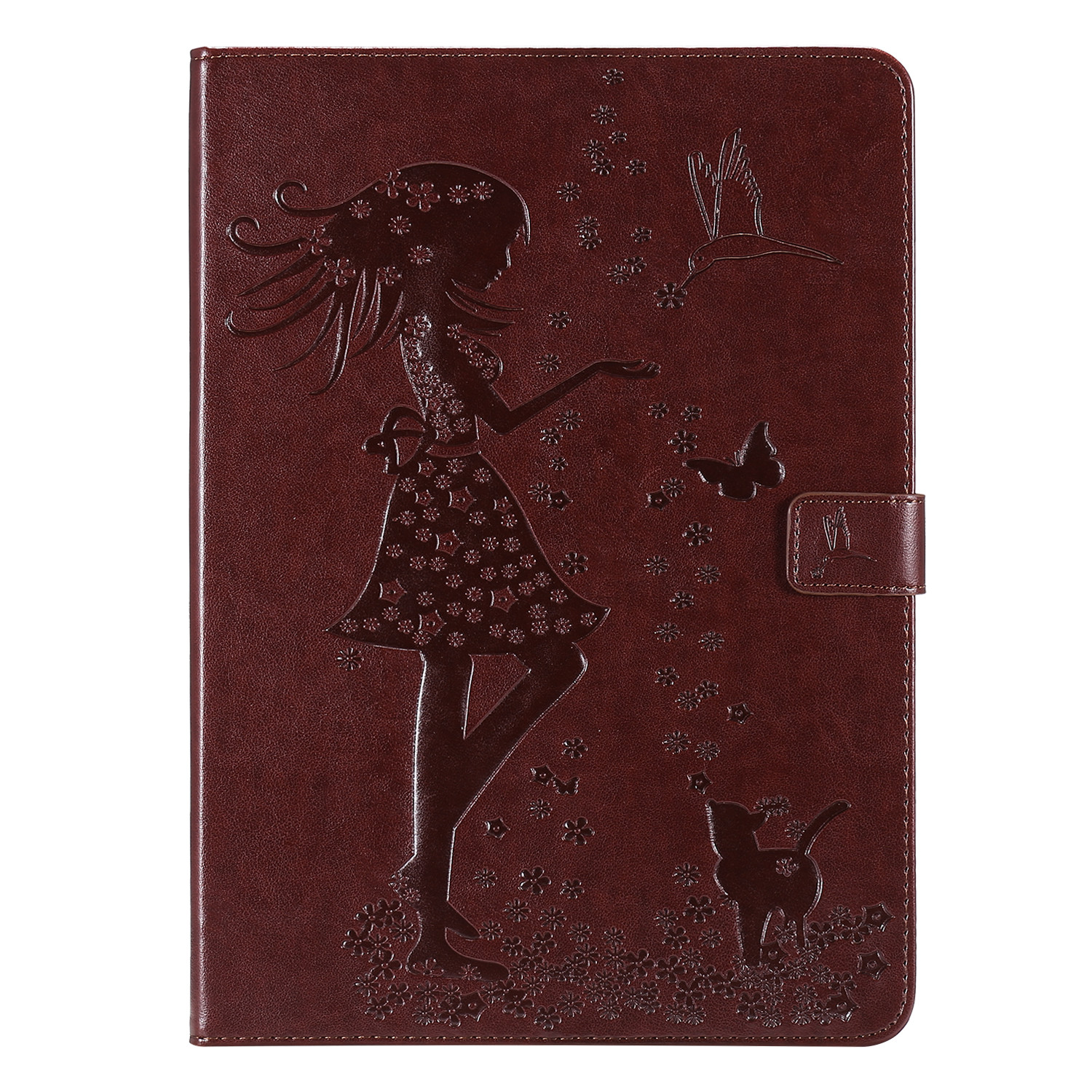 6 Purple For iPad 4th Gen 12 9 Cover 2020 Funda Cover Stand Leather Shell Folio Protective Case