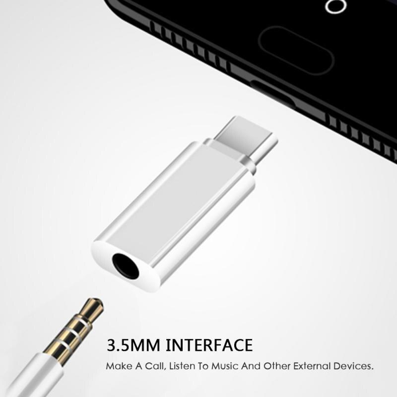 USB Type C до 3,5 мм аудио адаптер портативный адаптер для наушников для внешнего микрофона для Osmo Pocket